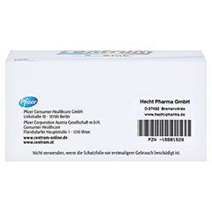 CENTRUM A-Z Tabletten 100 Stück - Unterseite