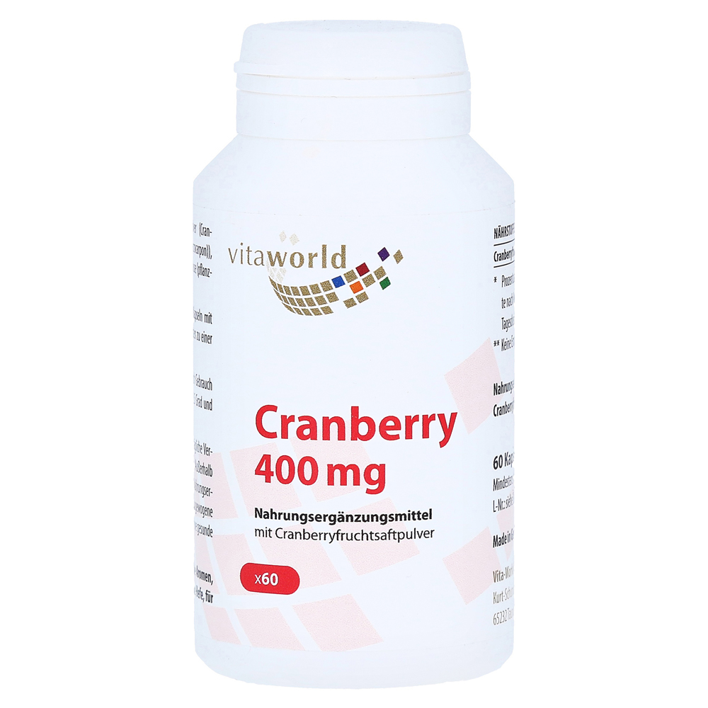 cranberry-400-mg-kapseln-60-stuck, 9.89 EUR @ medpex-de