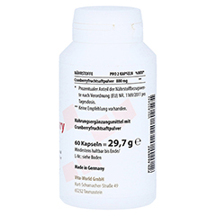 CRANBERRY 400 mg Kapseln 60 Stück - Linke Seite