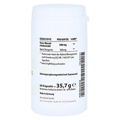 YAMS 500 mg Kapseln 60 Stück - Linke Seite