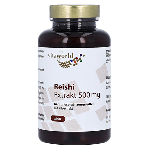 REISHI EXTRAKT 500 mg Kapseln 100 Stück