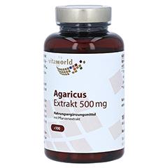 AGARICUS EXTRAKT 500 mg Kapseln 100 Stück