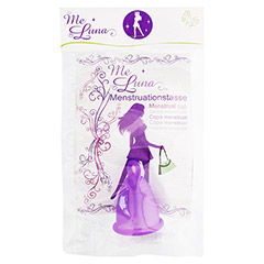 MENSTRUATIONSTASSE Me Luna Classic Gr.M violett 1 Stück
