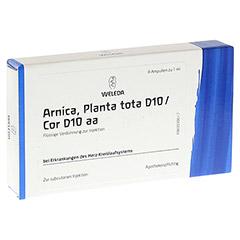 ARNICA PLANTA tota D 10/Cor D 10 aa Ampullen 8x1 Milliliter N1