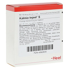 KALMIA INJEEL S Ampullen 10 Stück N1