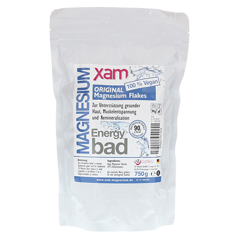MAGNESIUM FLAKES xam original Bad 750 Gramm
