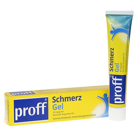 Proff Schmerzgel 50mg/g 50 Gramm N1