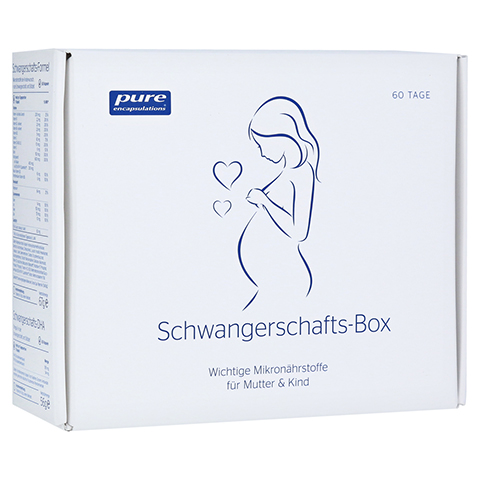 PURE ENCAPSULATIONS Schwangerschafts-Box Kapseln 120 Stück