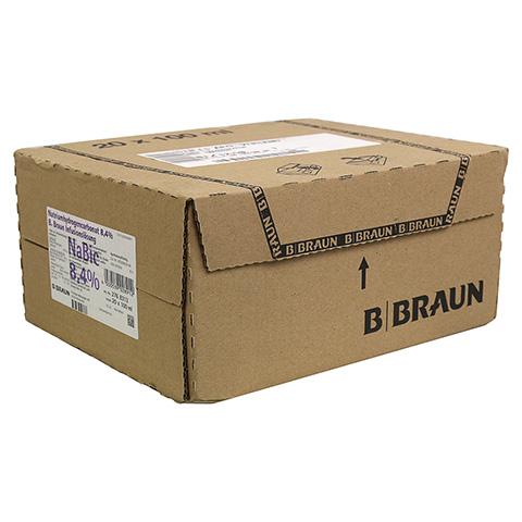 NATRIUMHYDROGENCARBONAT B.Braun 8,4% Glas 20x100 Milliliter N3