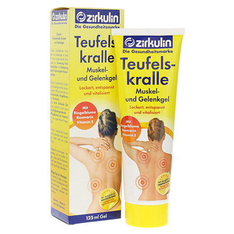 Zirkulin Teufelskralle Muskel- und Gelenkgel 125 Milliliter