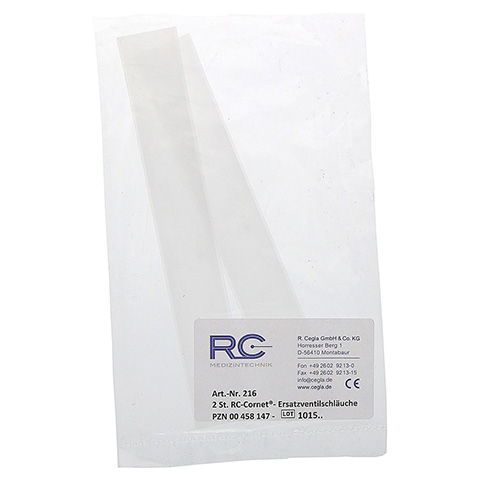 RC Cornet Ersatzventilschlauch 2 Stück