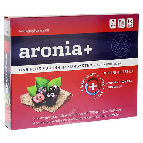 ARONIA+ IMMUN Trinkampullen 7x25 Milliliter