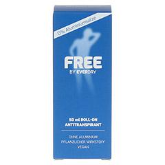 EVERDRY Antitranspirant Free ohne Aluminium 50 Milliliter - Vorderseite