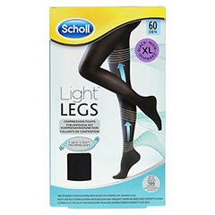 SCHOLL Light LEGS Strumpfhose 60den XL schwarz 1 Stück - Vorderseite