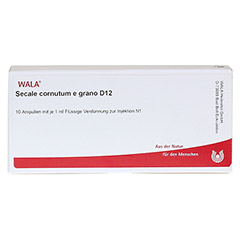 SECALE CORNUTUM E grano D 12 Ampullen 10x1 Milliliter N1 - Vorderseite
