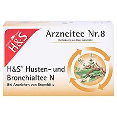 H&S Husten-und Bronchialtee N 20 Stück - Vorderseite
