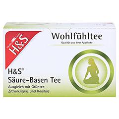 H&S Wohlfühltee feminin Säuren Basen Tee Fbtl. 20x1.8 Gramm - Vorderseite