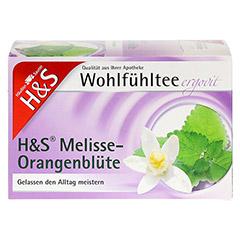 H&S Melisse Orangenblüte Filterbeutel 20x2.0 Gramm - Vorderseite