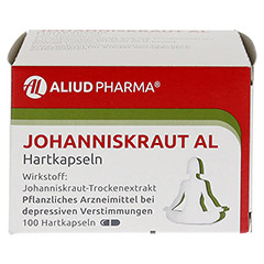 JOHANNISKRAUT AL Hartkapseln 100 Stück N3 - Vorderseite