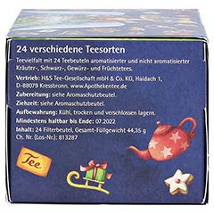 H&S Tee-Adventskalender Engel 1x44.3 Gramm - Unterseite