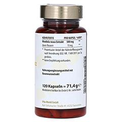 ROSENWURZ Extrakt 500 mg Kapseln 120 Stück - Linke Seite