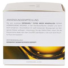 DERMASEL Körpercreme Arganöl 200 Milliliter - Linke Seite