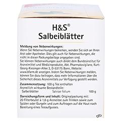 H&S Salbeiblätter 20 Stück - Linke Seite