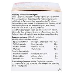 H&S Husten-und Bronchialtee N 20 Stück - Linke Seite