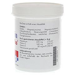 PLURAMIN Magnesium plus Pulver 250 Gramm - Linke Seite