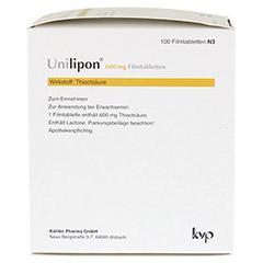 Unilipon 600mg 100 Stück N3 - Linke Seite