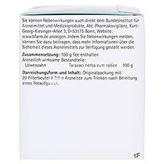 H&S Löwenzahn 20x2.0 Gramm - Linke Seite