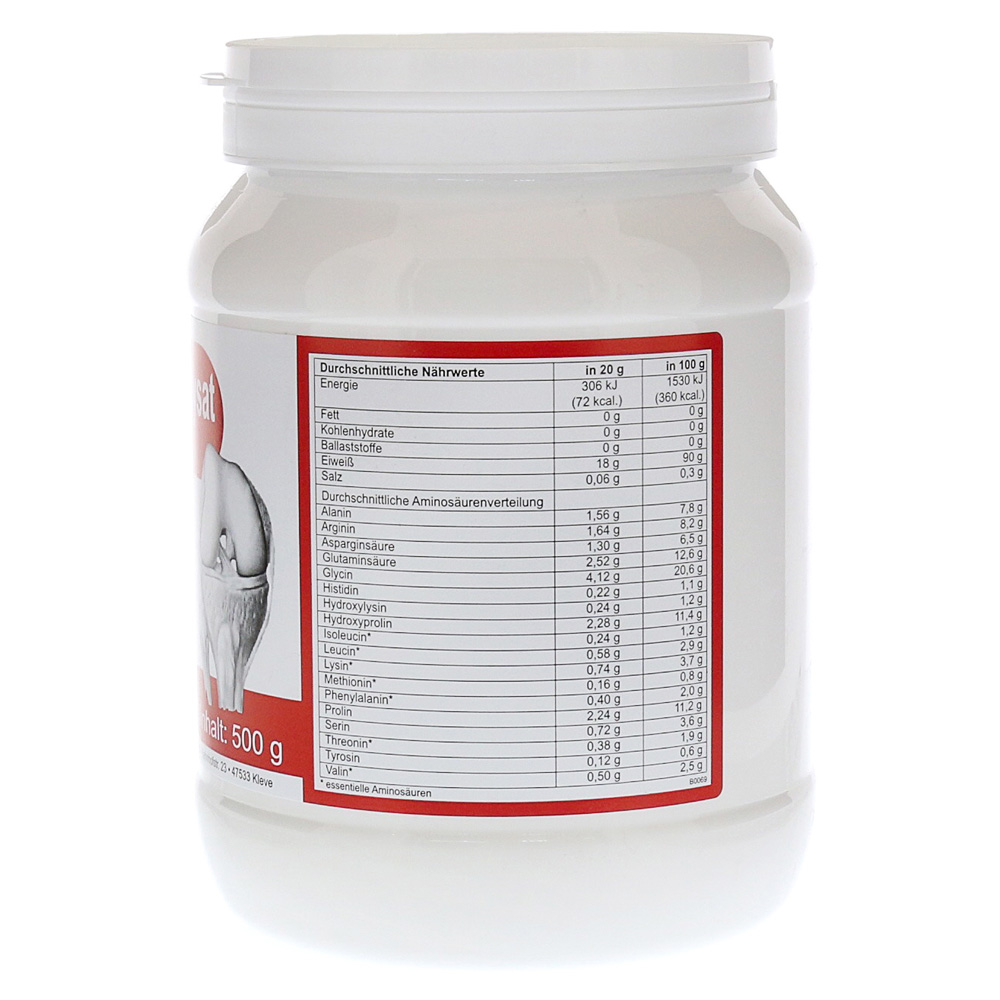 kollagen hydrolysat berco pulver 500g