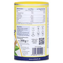 Zirkulin Flohsamenschalen gemahlen 200 Gramm - Rechte Seite
