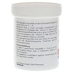 PLURAMIN Magnesium plus Pulver 250 Gramm - Rechte Seite