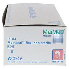 MAINASAL flex Nasenverband unsteril 20 Stück - Rechte Seite
