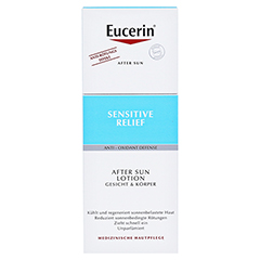 EUCERIN Sun After Sun Lotion 150 Milliliter - Vorderseite
