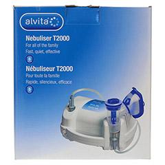 ALVITA Inhalator T2000 1 Stück - Rückseite