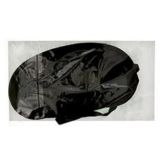 SCHLAFBRILLE schwarz 1 Stück - Rückseite