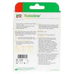 RATIOLINE Hallux valgus Druckschutzpolster Gr.M 1 Stück - Rückseite