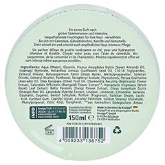 KNEIPP Wiesenkräuter Creme 150 Milliliter - Rückseite