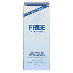 EVERDRY Antitranspirant Free ohne Aluminium 50 Milliliter - Rückseite