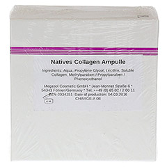 NATIVES Collagen Ampullen 10x3 Milliliter - Rückseite