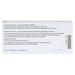SECALE CORNUTUM E grano D 12 Ampullen 10x1 Milliliter N1 - Rückseite