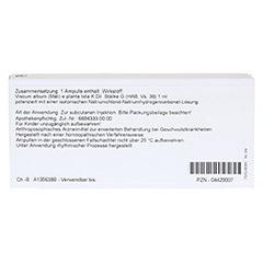 ISCUCIN mali Stärke G Ampullen 10x1 Milliliter N1 - Rückseite