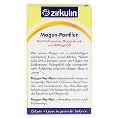 Zirkulin Magen-Pastillen 90 Stück - Rückseite