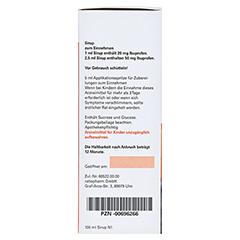 IBU-ratiopharm Fiebersaft für Kinder 20mg/ml 100 Milliliter N1 - Rechte Seite