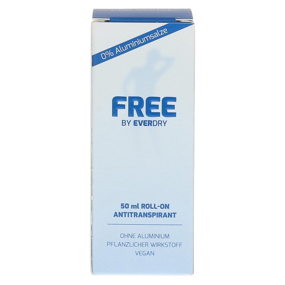 everdry antitranspirant free ohne aluminium 50 milliliter online bestellen medpex versandapotheke. Black Bedroom Furniture Sets. Home Design Ideas