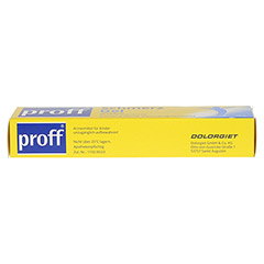 Proff Schmerzgel 50mg/g 50 Gramm N1 - Oberseite