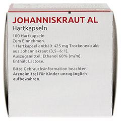 JOHANNISKRAUT AL Hartkapseln 100 Stück N3 - Oberseite