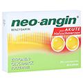 NEO ANGIN Benzydamin akute Halsschmerzen Zitrone 20 Stück N1